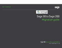 Sage 50 to 200 Migration Guide