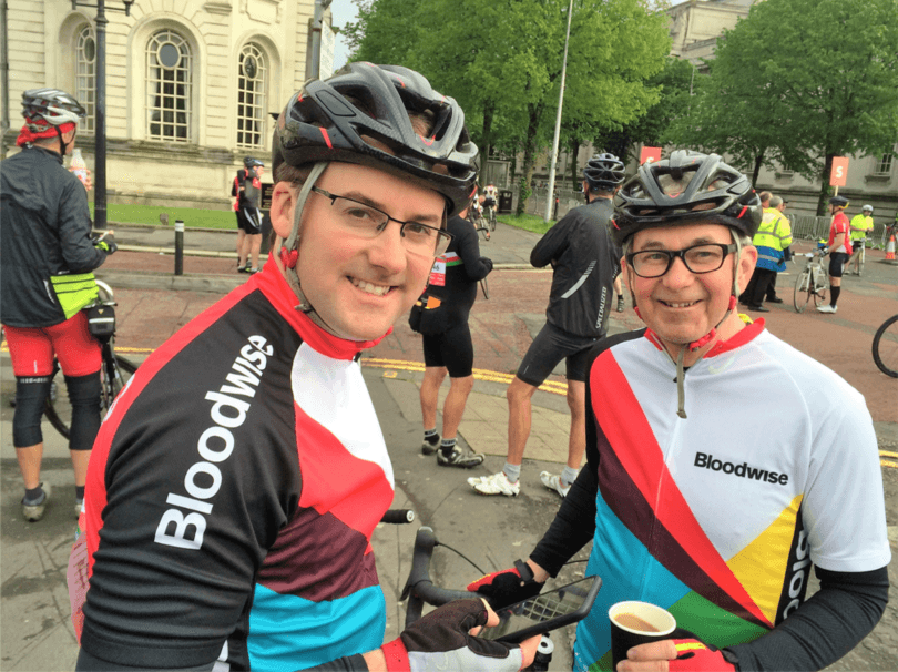 Cycle for Bloodwise 2016
