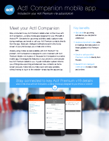Act! Companion mobile