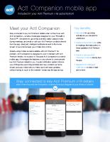 Act! Companion mobile