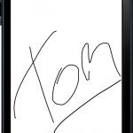 AlphaMobile signature