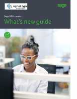 Sage 50 Accounts- What's new guide