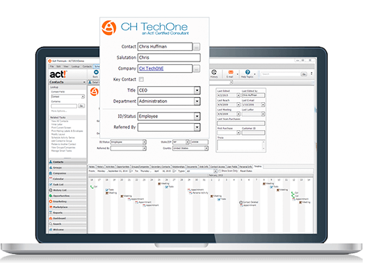 Act CRM overview