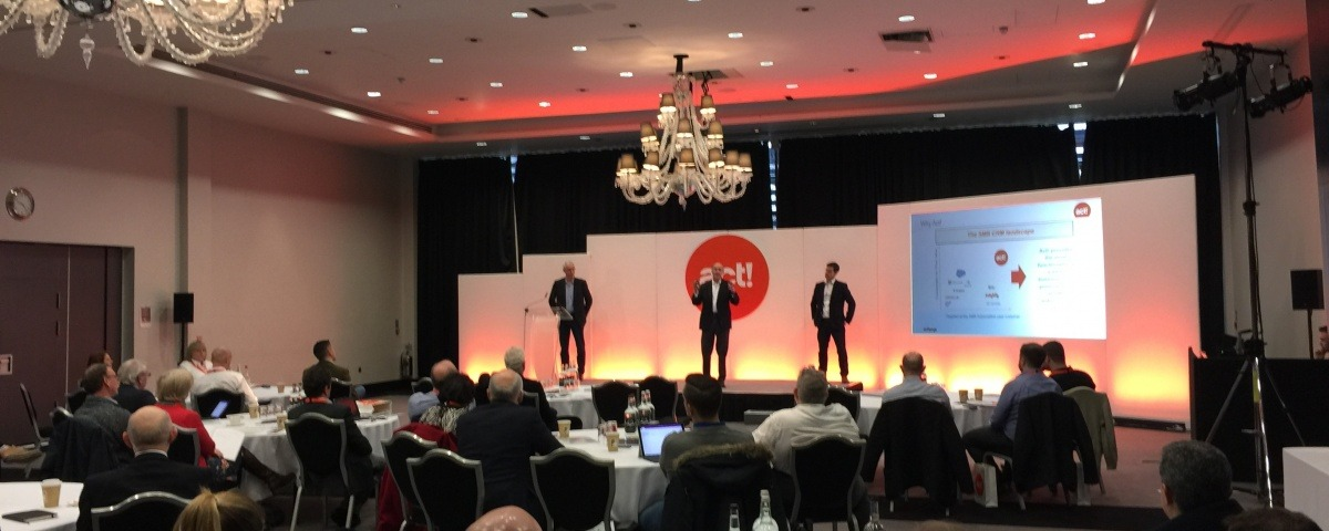 Act! CRM european Summit 2017 with Alphalogix