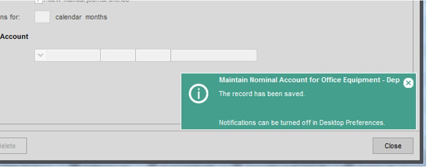 Sage 200 User Preferences