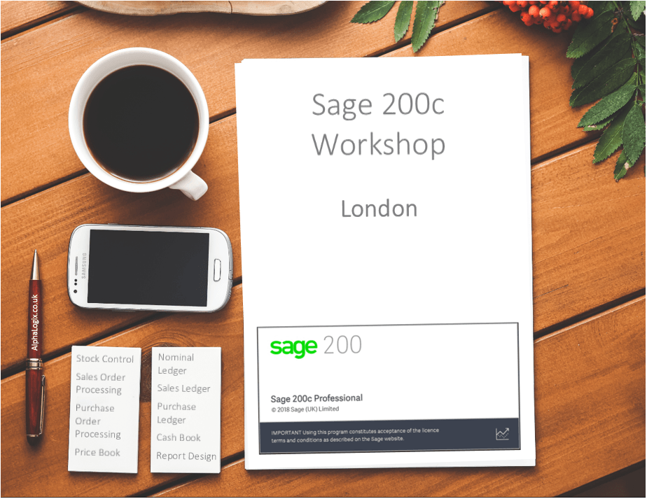 Sage 200c London Workshop