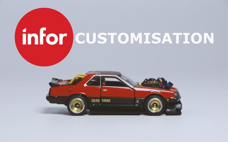 Infor CRm Customisation