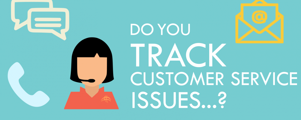 Customer service tracking image