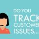 Customer service tracking image