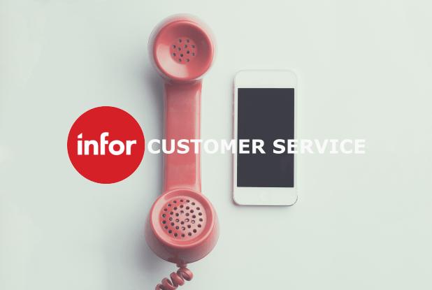 infor CRM Customer Service Banner