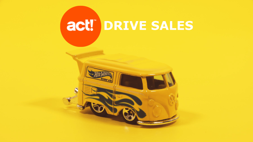 Act CRM Drive Sales