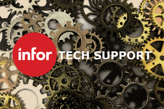 Infor CRM Technical support