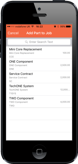 AlphaMobile custom CRM