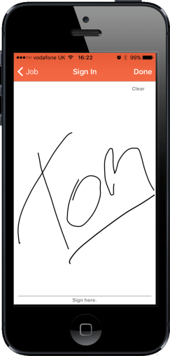 AlphaMobile signature