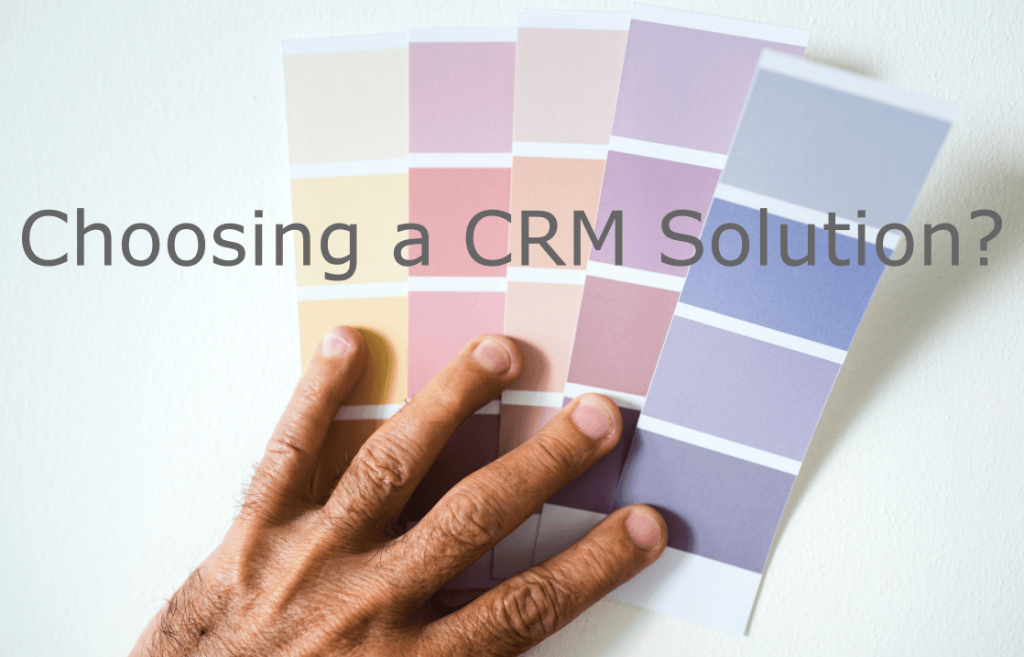 How to Buy a CRM Software Solution