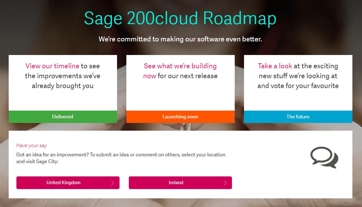 Sage Roadmap